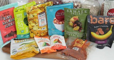 Healthy Snack Haul   Collab with Mind Over Munch