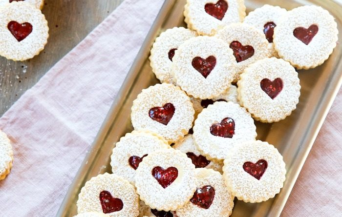 Holiday Linzer Cookies | The Organic Kitchen Blog and Tutorials