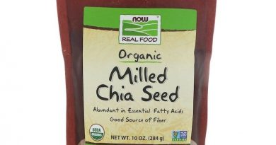 NOW Foods Real Food Organic Milled Chia Seed 10oz (284g) FREE Shipping FRESH
