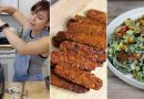 Vegan Bacon Caesar, Alfredo, Zucchini Brownies // Cook w/ Me