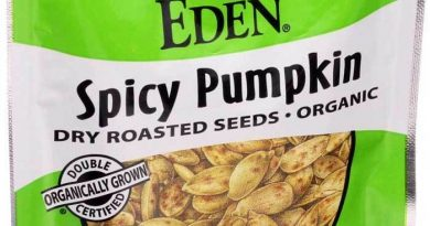 Eden Foods Organic Pumpkin Seeds Dry Roasted Spicy 1 oz Case of 12 Vegan