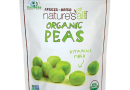 Nature's All Foods Organic Freeze-Dried Peas 2.2 oz Pkg