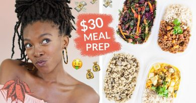 Cheap Vegan Meal Prep on $30/week | Breakfast, Lunch, Dinner, + Snack!