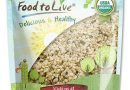 Hemp Seeds Organic Food to Live Raw Hearts Hulled Non-GMO Kosher