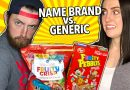 Name Brand vs. Generic Cereal Taste Test