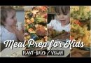 MEAL PREP FOR KIDS/TODDLERS (Plant-Based /Vegan)