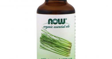 Now Foods Organic Lemongrass Oil 1 Oz