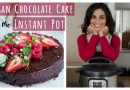 INSTANT POT VEGAN CHOCOLATE CAKE | vegan Instant Pot recipes