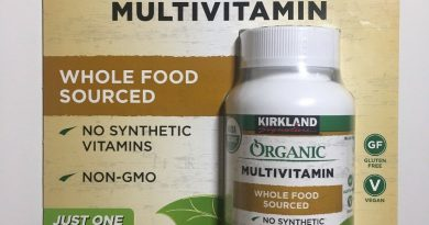 Kirkland Signature Organic Multivitamin, Whole Food Sourced, 80 Coated Tablets