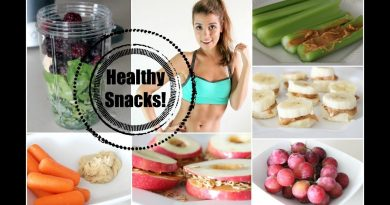 Get Healthy With Me | Snack Foods!