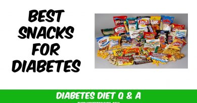 Top 10 Snacks for Diabetes