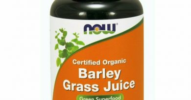Now Foods Certified Organic Barley Grass Juice 4 oz 113 g GMP Quality Assured