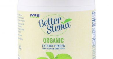 Now Foods  Better Stevia  Organic Extract Powder  1 lb  454 g