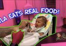 INFANT FOOD – BEST BABY FOOD | AYLA EATS REAL FOOD | VLOGMAS EPISODE 2