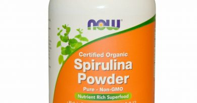 Now Foods Certified Organic Spirulina Powder 1 lb 454 g GMP Quality Assured,