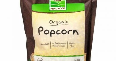 Popcorn Organic 24 oz by Now Foods