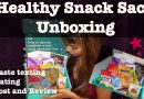 Snack Sack Unboxing – Taste Testing and Review (Healthy Organic Snacks!) June Box