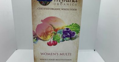 Garden of Life Multivitamin for Women Mykind Organic Whole Food Vitamin 120 Caps