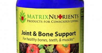 Whole Food Organic Joint & Bone Support Supplement by Matrix Nutrients