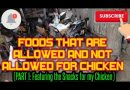 Native Chicken Organic Foods and Foods not Allowed