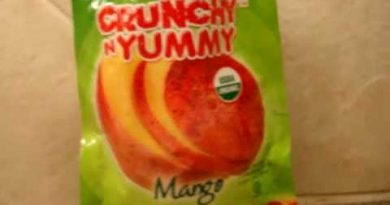 All Natural Snacks – Crunchy N Yummy Organic Freeze Dried Fruit Mango – Antioxidant-fruits