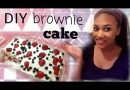 DIY BROWNIE ICECREAM CAKE