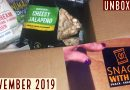 Snack with Me box | November 2019 | Unboxing