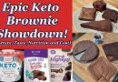 Keto Brownie Mixes against Homemade! | Taste and Review, so you don't have to!
